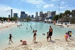 Parklands sul do banco - Brisbane Austrália Imagem de Stock