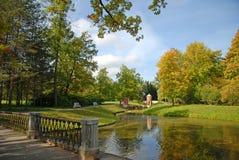 Parklandschaft, Pushkin, HF Stockfotos