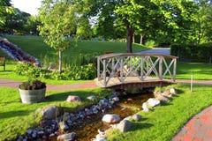 parklandskap Royaltyfria Bilder