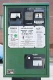 Parkmeter Royalty-vrije Stock Foto's
