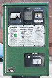Parkmeter Lizenzfreie Stockfotos