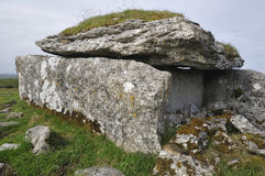 Parknabinnia Megalithic Wedge Tomb Stock Image