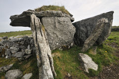 Parknabinnia Wedge Tomb Royalty Free Stock Images