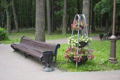 Parkontwerp Stock Foto