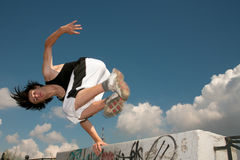 Parkour Image stock