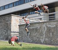 Parkour Fotos de Stock Royalty Free