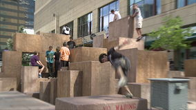 Parkour Athletes in Denver