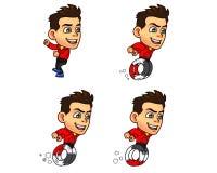 Parkour Boy Animation Sprite Stock Photography