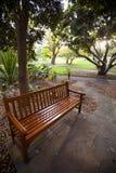 Parkowa ławka Fotografia Stock