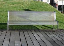 Parkowa ławka Obrazy Royalty Free