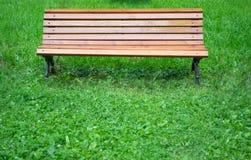 Parkowa ławka Zdjęcie Royalty Free