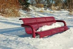 Parkowa ławka Obraz Stock