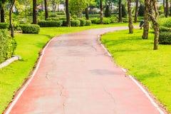 Parkowa droga przemian Fotografia Stock