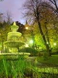 Parkowa fontanna Zdjęcie Stock