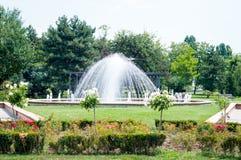 Parkowa fontanna Fotografia Royalty Free