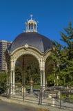 Parkowa kolumnada, Karlovy Zmienia obrazy stock