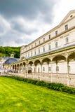 Parkowa kolumnada Sadova-Karlovy Zmienia, republika czech zdjęcia royalty free