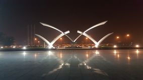 Parkowa noc otwarty Vietnam Zdjęcia Stock