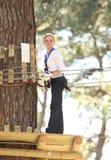parkowa przygody kobieta zdjęcie royalty free