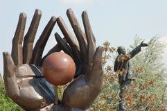 parkowa statua Zdjęcia Royalty Free