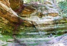 parkowej skały głodujący stan zdjęcie royalty free
