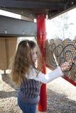 parkowi dziewczyn potomstwa Obrazy Royalty Free