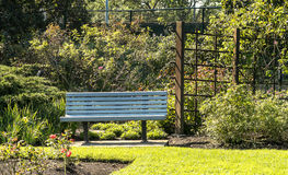 parkowy ławki społeczeństwo Zdjęcie Royalty Free