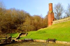 Parkowy Bridżowy dziedzictwa Centre wewnątrz pod zdjęcie royalty free