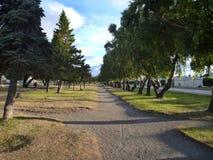 Parkowy deptak w punta arenach Obrazy Stock