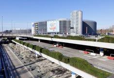 Parkowy Domowy Hamburski lotnisko fotografia royalty free