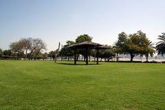 parkowy Dubai piękny widok uae al araba plaży emiratów mamzar panoramiczny park jednoczył widok zdjęcie royalty free