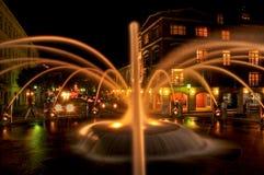 parkowy fontanny nabrzeże zdjęcie royalty free