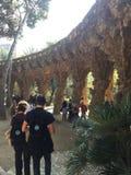 Parkowy GÃ ¼ el Barcelona Zdjęcie Royalty Free