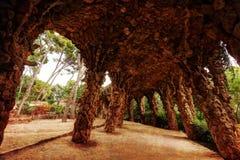 Parkowy Gï ¿ ½ ell Barcelona zdjęcie royalty free