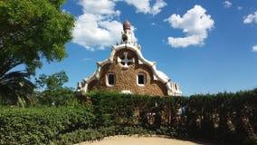 Parkowy Güell Zdjęcia Royalty Free