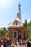 Parkowy Guell, Barcelona Zdjęcia Stock