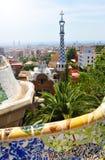 Parkowy Guell, Barcelona Obrazy Stock