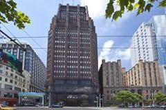 Parkowy hotel Obrazy Royalty Free