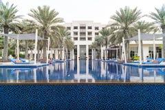Parkowy Hyatt hotel, Abu Dhabi Obrazy Stock