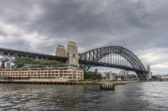 Parkowy Hyatt schronienia i hotelu most, Sydney Australia Zdjęcia Stock