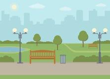 parkowy miasta społeczeństwo Obrazy Stock