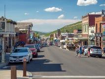 Parkowy miasto, Utah, Stany Zjednoczone, Ameryka: [centrum wioska olimpijska blisko słonego jeziora miasta obrazy stock