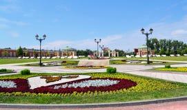 parkowy Moscow tsaritsino fotografia stock