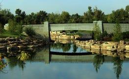 Parkowy most Zdjęcia Royalty Free