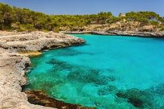 Parkowy naturalny Mondrago Mallorca Obrazy Royalty Free