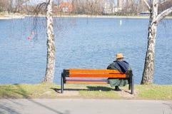 Parkowy odpoczywać Zdjęcia Stock