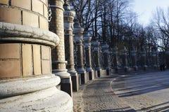 Parkowy ogrodzenie Obrazy Stock