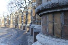 Parkowy ogrodzenie Fotografia Stock