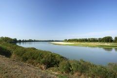 parkowy Piedmont po rzeki Turin valentino widok Obraz Stock