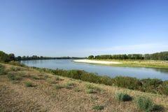 parkowy Piedmont po rzeki Turin valentino widok Obraz Royalty Free